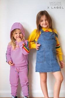 Mix/Madeleine Thompson Rainbow Stripe Joggers