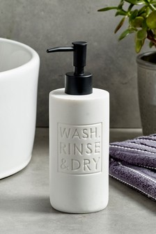 Wash Rinse & Dry Soap Dispenser