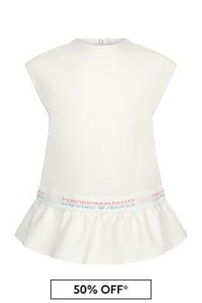 فستان بيبي بناتي أبيض