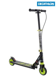 Decathlon Mid5 Kids' Scooter With Handlebar Brake And Suspension Oxelo