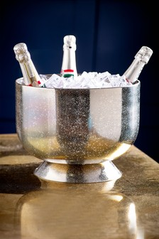 Silver Glitter Champagne Trug
