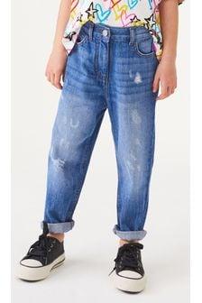 Bright Blue Mom Jeans (3-16yrs)