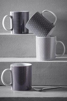 Set of 4 Sloane Mugs