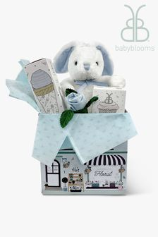 Babyblooms Blue Bunny Welcome Baby Gift