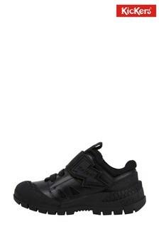 Kickers® Black Trukka Blot Shoes