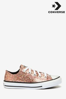 Converse All Star Glitter Youth Trainers
