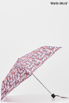 White Stuff Plum Recycled Material Umbrella
