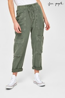 Free People Feelin Good Utility Trousers