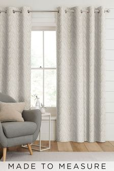 Pionna Linen Cream Made To Measure Curtains