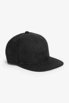 Black Sueded Cap (Older)