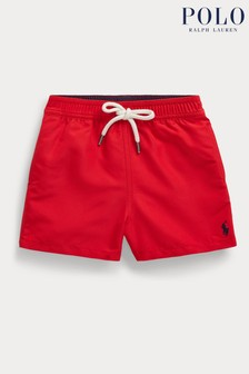 Ralph Lauren Red Swim Shorts