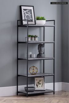 Staten Tall Bookcase by Julian Bowen