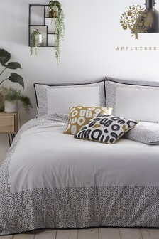 Appletree Dottie Duvet Cover and Pillowcase Set