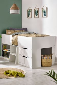 White Compton Cabin Bed