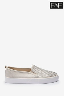 F&F Gold Shoes