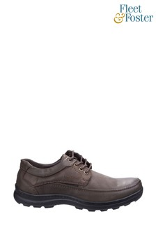 Fleet & Foster Brown Luxor Lace-Up Shoes