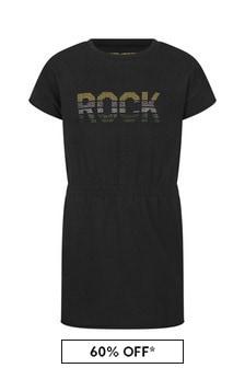 Zadig & Voltaire Girls Black Cotton Dress