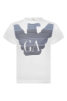 Baby Boys Cotton Logo Print T-Shirt