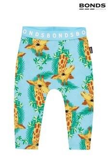 Bonds Blue Giraffe Leggings