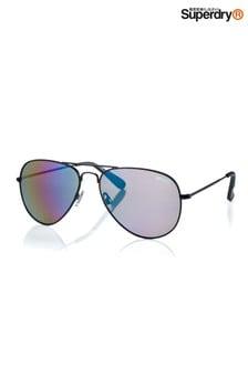 Superdry Heritage Aviator Style Sunglasses