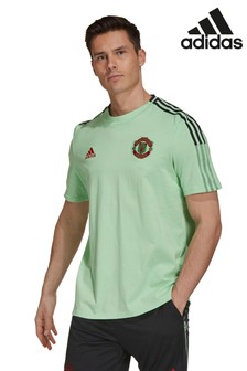 adidas Mint Manchester United T-Shirt