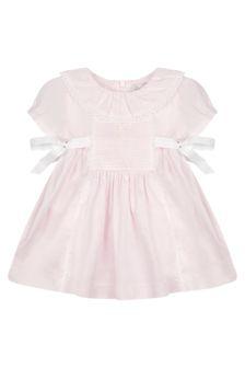 Patachou Baby Girls Pink Cotton Dress