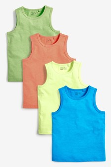 Fluro 4 Pack Vests (3-16yrs)