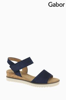 Gabor Raynor Bluette Suede Sandals