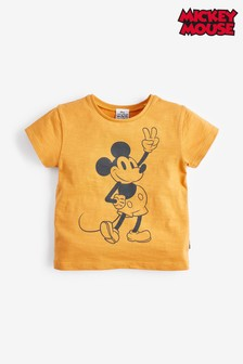 Orange Mickey Mouse™ T-Shirt (3mths-7yrs)