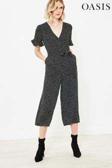 Oasis Black Spot Jumpsuit