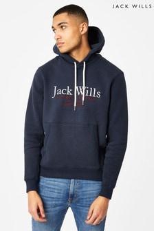 Jack Wills Navy Batsford Hoodie