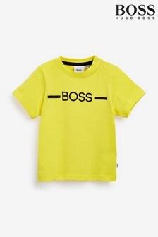 BOSS Baby Yellow Logo T-Shirt