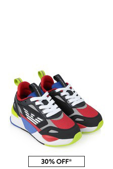 Kids Multicoloured Ace Runner Trainers