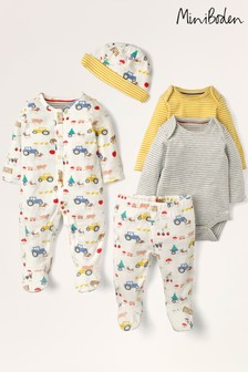 Boden Ivory 5 Piece Newborn Gifting Set