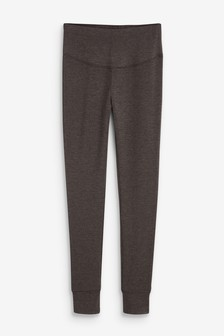 Charcoal Jersey Leggings