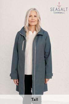 Seasalt Cornwall Tall Grey Nickel Coverack Coat
