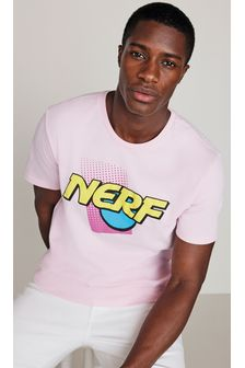 Pink Nerf Licence T-Shirt