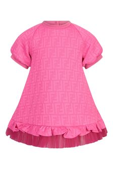 Fendi Kids Cotton Dress