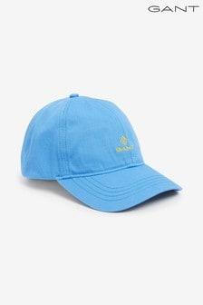 GANT Pacific Blue Contrast Twill Cap
