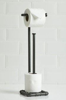 Hudson Stand And Store Toilet Roll Holder