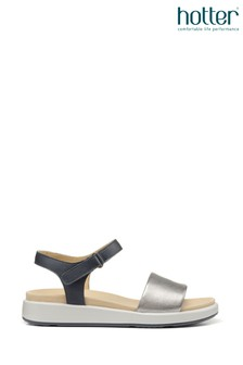 Hotter Play II Wide Fit Touch Fastening Open Sandals
