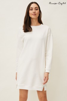 Phase Eight Cream Chloe Sweater Dress