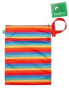 Totsbots Rainbow Stripe Wet & Dry Bag