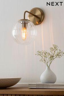 Brass Bourton Wall Light