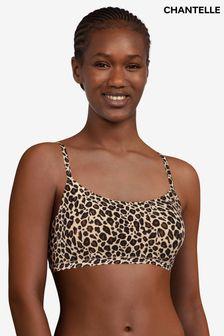 Chantelle Leopard Soft Stretch Padded Bralette