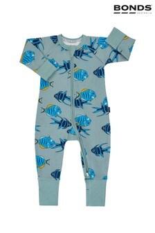Bonds Grey Floating Fish Sleepsuit