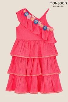Monsoon Fiesta Flower Frill Dress