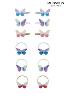 Monsoon Flutter Butterfly Hair Accessory Set