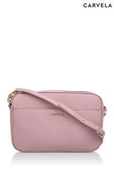 Carvela Pink Cammie Cross Body Bag