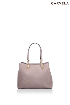Carvela Nude Cammie Slouch Tote Bag